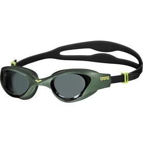 arena The One Goggles smoke-deep green-black